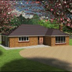 Architectural Design for a new build home in Sussex