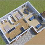 3D Floorplan for a sussex new build home