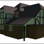 Tudor Style Extension to a Sussex property to help aid a Planning Application