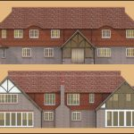 2D Architectural Elevations for a West Sussex Mansion